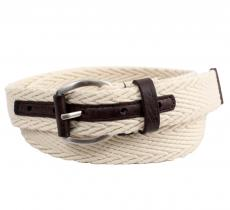 Ben Sherman Webbing and leather
